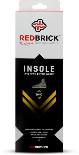 Redbrick Inlegzool Low - 44