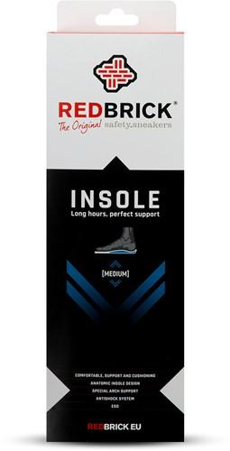 Redbrick inlegzool Medium - 36